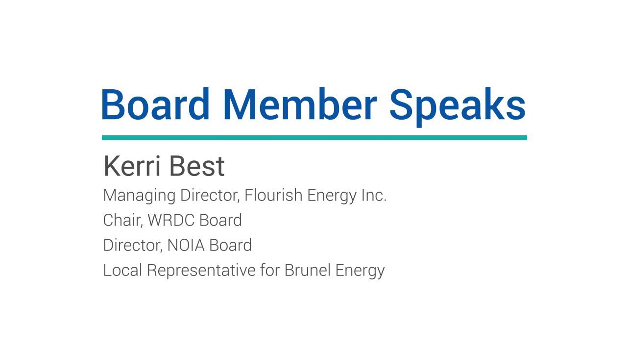 Board Member Speaks: Kerri Best, Flourish Energy Inc.